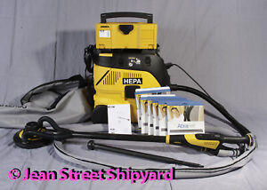 Mirka Leros Dust Free Wall Ceiling Drywall Vacuum Sander + 1230-PC HEPA Vac Kit