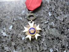 belle medaille belge chevalier ordre de la couronne