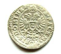 Regensburg Stadt 2 Kreuzer 1623 Halbbatzen Silber sehr schön