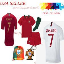 Portugal Ronaldo World Cup Kids Jersey Set 3 - 13 Yrs New w Tags
