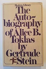 The Autobiography of Alice B. Toklas by Gertrude Stein, Modern Library, 1st Ed