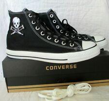 CONVERSE CT Jackass Hi Top Sneakers Black White High Skull Crutches Men's 9 NEW
