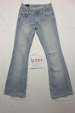 Lee felton bootcut boyfriend jeans usato (Cod.U357) Tg.43 W29 L33 donna