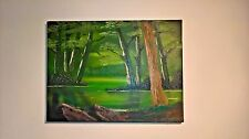 Emerald Forest - Original Oil On Canvas Painting By Paul Anderson.