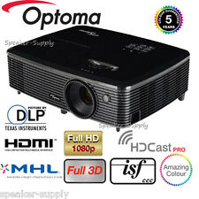 Optoma Wireles HD142X Full 3D DLP Home Theater Projector 1080P HDMI 3000 Lumen