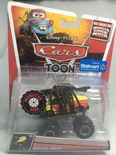 2012 Disney Pixar CARS TOON: RASTA CARIAN Monster Truck Mater -Tormentor's Rival