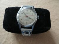Vintage Mechanical Wind Up Swiss Made Pittsfield 17 Jewels Incabloc Watch