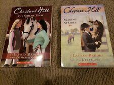 Lot of 2 Lauren Brooke - Chestnut Hill Series Books #2 & #5