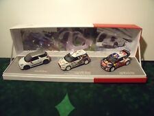 COFFRET CITROEN DS3 Racing  DS3 R3 DS3 WRC - NOREV - 1/43 Limited Edition 900 EX