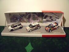 COFFRET CITROEN DS3 Racing  DS3 R3 DS3 WRC - NOREV - 1/43 Limited Edition 900 EX