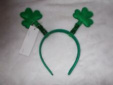 Nwt St. Patrick's Patty's Day Irish Shamrock Headband