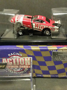 NHRA 1998 Action Diecast 1:64 Whit Bazemore Winston Mustang Funny Car