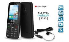Teléfonos móviles libres Alcatel-Lucent color principal negro con conexión 3G