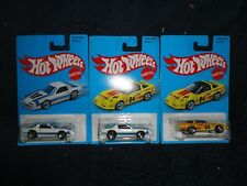 "Hot Wheels Target Exclusive Set of 3 Retro Heritage Cars One with ""ERROR CARD"""