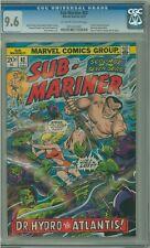 SUB-MARINER 62 CGC 9.6 NAMORITA & DOCTOR HYDRO MARVEL COMICS 1973