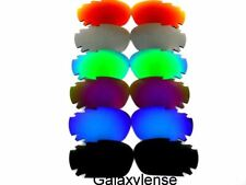 Replacement Lenses For Oakley Racing Jacket Black&Blue&Purpl&Green&Titanium&Red