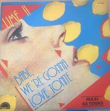 "LIME (II) - BABE, WE'RE GONNA LOVE TONITE, 12"" VINYL, 2141 540 Spain"