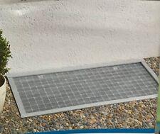 Lichtschachtabdeckung Kellerschachtabdeckung Alu-Bausatz 60x115 cm kürzbar