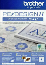 New Brother Pe-Design 11 Upgrade Version Embroidery & Sewing Digitizing Software
