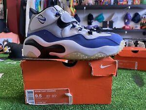Nike Zoom Air Turf Cross Trainer Shoes Barry Sanders Blue Mens 9.5 315099-141