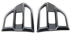 Carbon Fibre Effect Side Vent Covers fits Ford Ranger T6 2016+