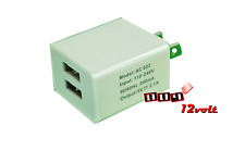 ZEN Dual USB home power plug charger adapter for USA