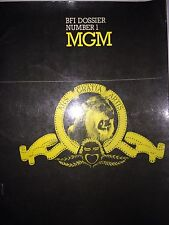 BFI DOSSIER NUMBER 1 MGM *FIRST ED*