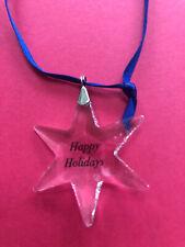 Swarovski Little Star Crystal Ornament Christmas