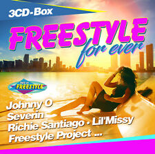 CD Freestyle For Ever D'Artistes Divers 3CDs