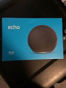 Echo (4th Gen )L4S3RE  With premium sound, smart home hub, and Alexa | Charcoal