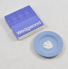 "Wedgwood Jasper (Pale Blue) ""Round Sweet Dish"" Patrician / kleiner Teller Plate"