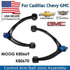 4pcs Suspension Parts Kits: Control Arm Ball Join Fits Cadillac Chevrolet GMC