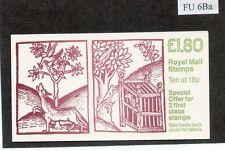 SG. FU6Ba. £1.80 Linnean Society, Wolf and Birds Right Margin Rare Error B1