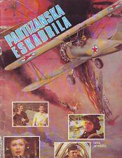 PARTIZANSKA ESKADRILA - VERY RARE COMPLETE ALBUM WITH ALL STICKERS - 1981 EXYU