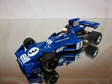 MINICHAMPS TYRRELL 007 FORD 1974 - JODY SCHECKTER - F1 ELF BLUE 1:43 - GOOD