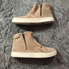 Billabong Women's Sweet Spot Sneaker Boot Dune Size 9 z6AY Faux Fur Fuzzy
