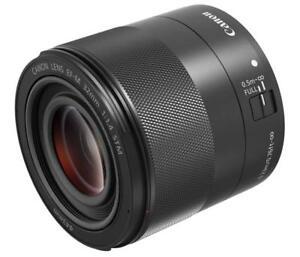 Canon EF-M 32mm F-1.4 STM Lens for Mirrorless Single Lens EF-M3214STM EMS W/T