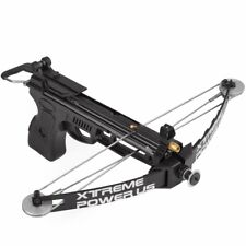 Outdoor Hand Held Heavy Duty Crossbow Hunting Fishing with Arrows 27Lbs 120fps
