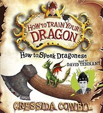 How to Speak Dragonese (How to Train Your Dragon) New Audio CD Book Cressida Cow