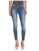 SIWY DENIM Lauren Mid Rise Ankle Slim Skinny Jeans Dark Faded Blue 26 $218 #15