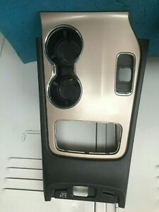OEM 2015 JEEP GRAND CHEROKEE, CENTER CONSOLE CUP HOLDER TRANSMISSION SURROUND