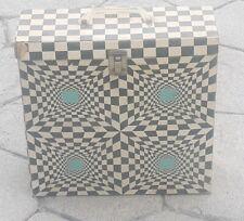 Vintage 1960's Platter-Pak 33 1/3 RPM LP Album Psychedelic No. 1260 Storage Case