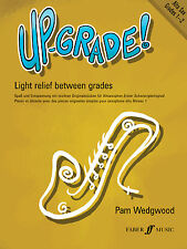 Up-Grade Alto Sax Grades 1-2 Instrumental Solo Piano SONGS FABER Music BOOK