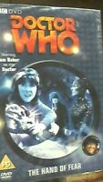 Doctor Who: The Hand of Fear DVD - RARE O-Ring Cardboard Outer Cover NEW SEALED