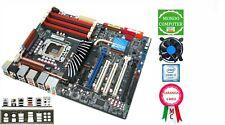 SCHEDA MADRE SOCKET 1366  ASUS P6T DELUXE + CPU INTEL  i 7 920 QUAD CORE