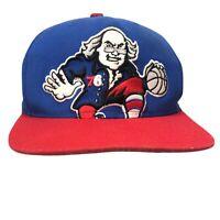 Philadelphia 76'ers Mitchell & Ness NBA Diamond  Snapback Hat Cap Nostalgia