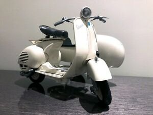 Vespa VL1T With Sidecar 1/6 Scale Large Diecast Model no box