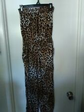 LOVE BY CHELSEY, JUMPER, ANIMAL PRINT, MULTI COLORS, POCKETS, SIZE M