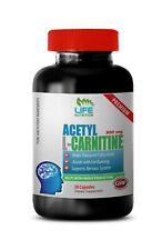 energy boosting - ACETYL L-CARNITINE 500MG - natural fat burner 1B