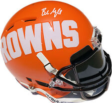 Browns #6 BAKER MAYFIELD Signed Autographed AMP Authentic Football Helmet BAS